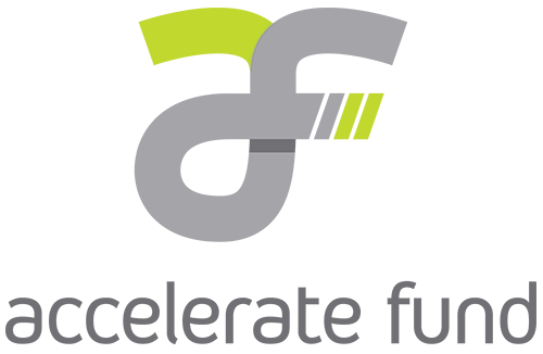 logo for AVAC's accelerate fund